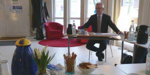 Claus O. Deese vom Mieterschutzbund im Rat&Tat