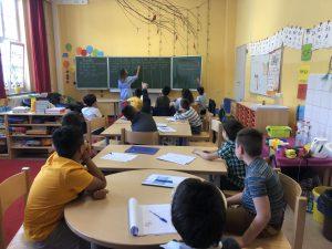Sprachcamp Heckinghausen - Unterrichtseinheit