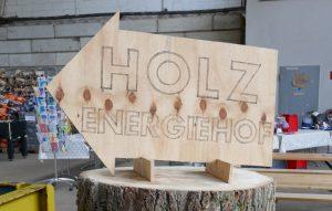 Holzenergiehof der GESA