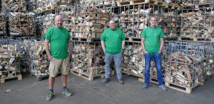 Neue Shirts für den Holzenergiehof
